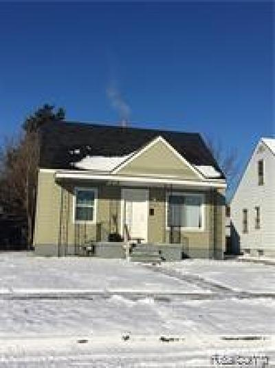 Detroit Single Family Home For Sale: 7401 Rosemont Avenue