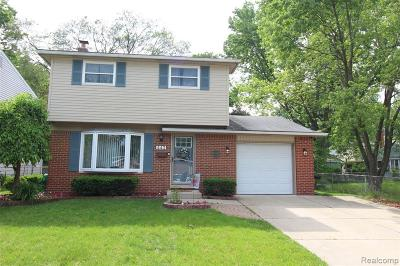 Garden City, Westland, Plymouth Twp, Canton Twp Single Family Home For Sale: 443 N Dobson Street N