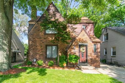 Detroit Single Family Home For Sale: 19742 Greydale Avenue