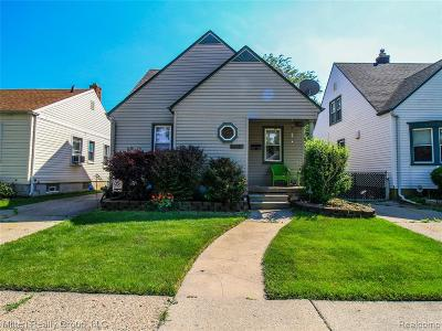 Lincoln Park Single Family Home For Sale: 1153 White Avenue