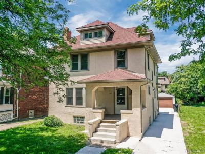 Detroit Single Family Home For Sale: 902 Atkinson Street