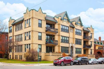 Detroit Condo/Townhouse For Sale: 615 W Hancock Street #104