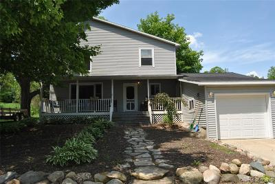 Lapeer County Single Family Home For Sale: 2705 Newark Road