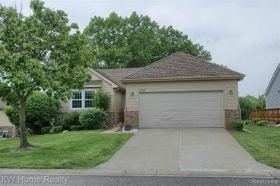 Novi Condo/Townhouse For Sale: 41642 Charleston Lane