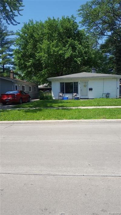 Dearborn Heights Single Family Home For Sale: 5626 S Gulley Road