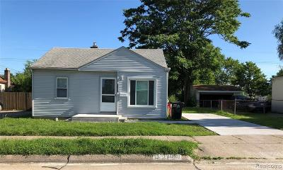 Single Family Home For Sale: 19050 Delaware