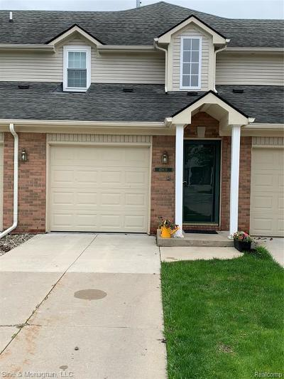 Macomb Twp Condo/Townhouse For Sale: 45676 Gable Drive