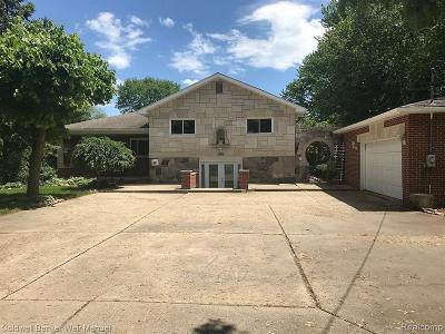 St Clair Shores, Roseville, Fraser, Harrison Twp Single Family Home For Sale: 31608 York Street