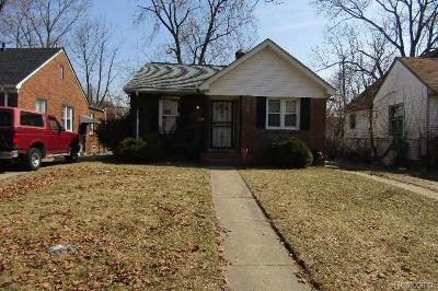 Detroit Single Family Home For Sale: 14016 Grandville Avenue