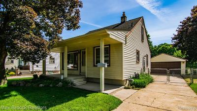 Clawson Single Family Home For Sale: 1440 N Bywood Avenue