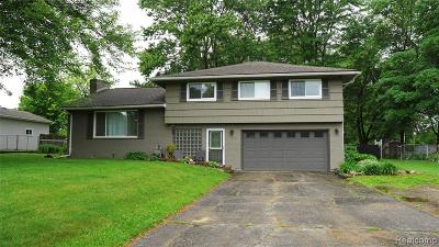 Genesee Twp Single Family Home For Sale: 3089 Gehring Drive