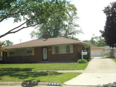Wayne County Single Family Home For Sale: 4802 Hayes Street