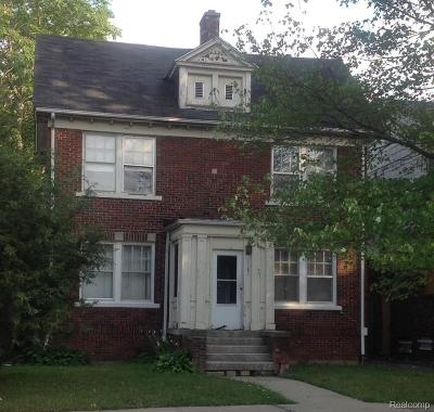 Detroit Single Family Home For Sale: 1181 Lawrence Street