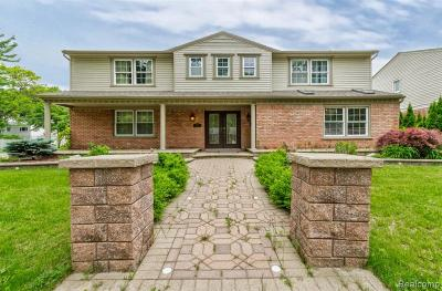 Dearborn Heights Single Family Home For Sale: 507 Centralia Street