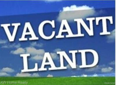 Southfield Residential Lots & Land For Sale: - W 10 Mile Road