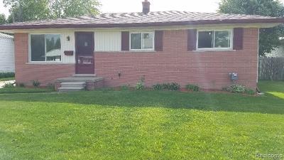 Oakland County, Macomb County, Wayne County Single Family Home For Sale: 23491 Blackett Avenue