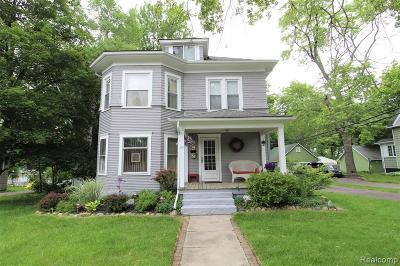 Imlay City MI Single Family Home For Sale: $129,900