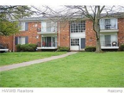 Bloomfield Twp Condo/Townhouse For Sale: 408 Fox Hills Drive S #4