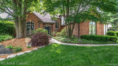 TROY Single Family Home For Sale: 4419 Coffey Court