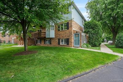 Plymouth MI Condo/Townhouse For Sale: $144,900