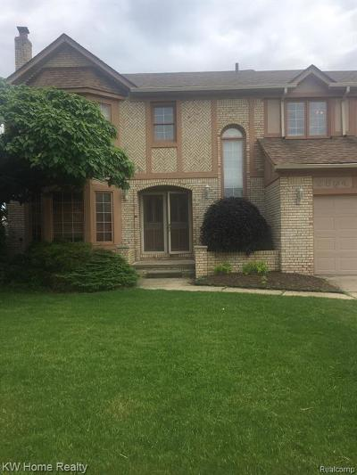 Sterling Heights Single Family Home For Sale: 2564 Ormsby Drive