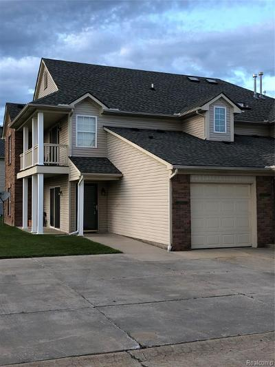 Macomb Twp Condo/Townhouse For Sale: 45683 Gable Drive