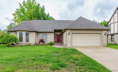CANTON Single Family Home For Sale: 45144 Danbury Road