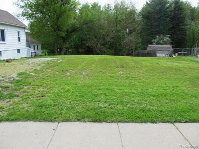 Flat Rock Residential Lots & Land For Sale: 26015 E Huron