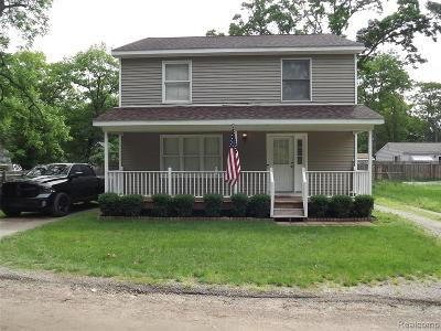 Oxford, Oxford Twp, Oxford Vlg Single Family Home For Sale: 1426 Dewey Road