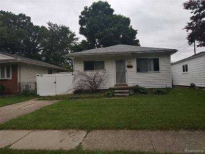 Livonia Single Family Home For Sale: 20029 Antago Street