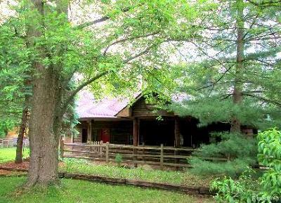 City Of The Vlg Of Clarkston, Clarkston, Independence, Independence Twp Single Family Home For Sale: 6470 S Main Street