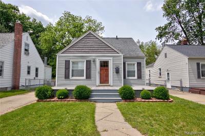 Royal Oak Single Family Home For Sale: 722 S Rembrandt Avenue