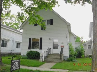 Single Family Home For Sale: 439 N Monroe Street