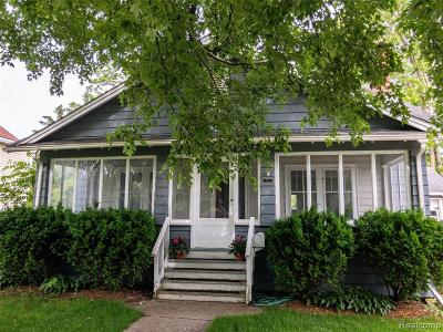 Lake Orion Single Family Home For Sale: 134 N Anderson Street