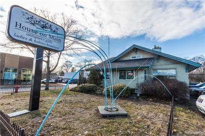 Royal Oak Commercial For Sale: 803 N Main Street