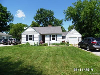 Genesee Twp Single Family Home For Sale: 3519 E Carpenter Road