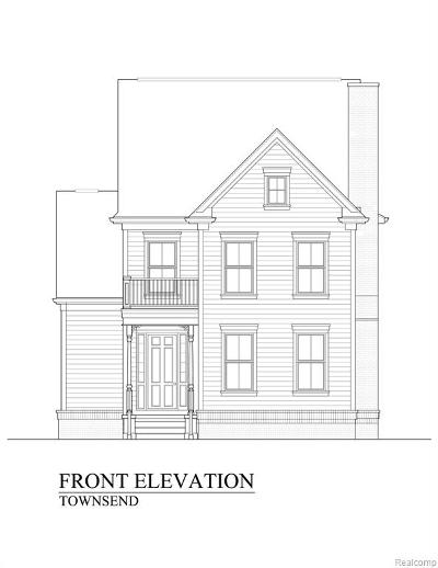 Canton, Plymouth Single Family Home For Sale: Lot 5 Spring Street