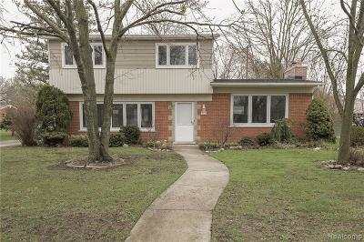 Bloomfield Twp Single Family Home For Sale: 523 S Cranbrook Cross Road