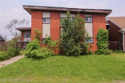 Multi Family Home For Sale: 4234 W Davison