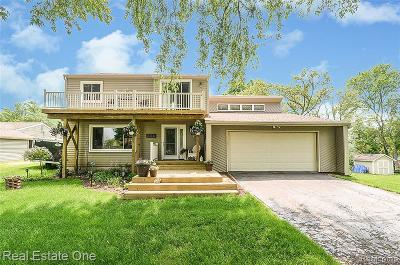 Highland Twp Single Family Home For Sale: 3575 Lakeview Drive