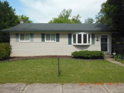 Brownstown Twp Single Family Home For Sale: 24356 Woodland Drive