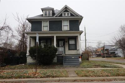 Detroit Single Family Home For Sale: 7377 Hanover Street