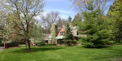 Bingham Farms Vlg Single Family Home For Sale: 31235 Bingham Road