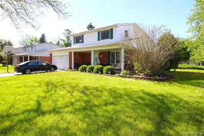Troy Single Family Home For Sale: 2797 English Drive