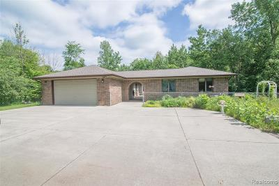 Oakland County Single Family Home For Sale: 2540 Lakeville Road
