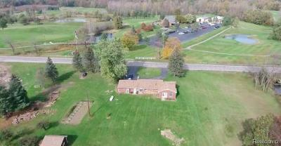 Oakland Twp Single Family Home For Sale: 849 Stoney Creek Road