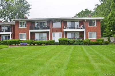 Grosse Ile Twp MI Condo/Townhouse For Sale: $160,000