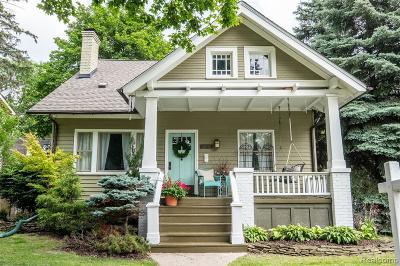 Birmingham MI Single Family Home For Sale: $429,900