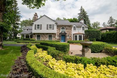 Birmingham MI Single Family Home For Sale: $2,399,000