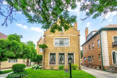 Detroit Single Family Home For Sale: 1945 W Boston Boulevard